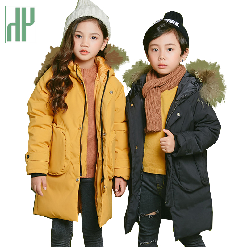 HH Childrens jackets thick Down Warm Coat Baby Girl Boy Big Russia Fur Parkas Toddler Boys snowsuit kids fur parkas 6 8 yearsHH Childrens jackets thick Down Warm Coat Baby Girl Boy Big Russia Fur Parkas Toddler Boys snowsuit kids fur parkas 6 8 years