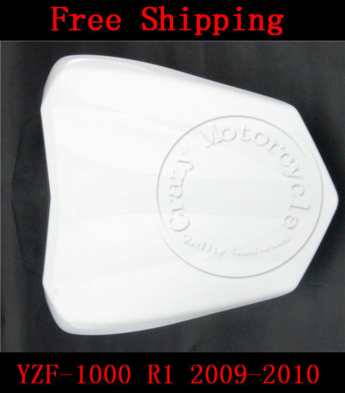 For Yamaha YZF 1000 R1 2009-2010 motorbike seat cover Motorcycle White fairing rear sear cowl cover Free Shipping 1 pcs free shipping rear seat cover cowl for 2009 2012 yamaha yzf r1 yzf r1 2010 2011 09 12 white motorcycle fairing
