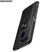 For Huawei Honor V20 Case Ring Magnetism Stand Shockproof Car stand Armor back cover Coque 6.4 Inch