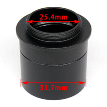 Astronomical Telescope C-Mount Adapter 1.25 inch Tube Extinction Adapter For Eyepiece Converter 31.7 mm to C CS CCD Interface цены онлайн