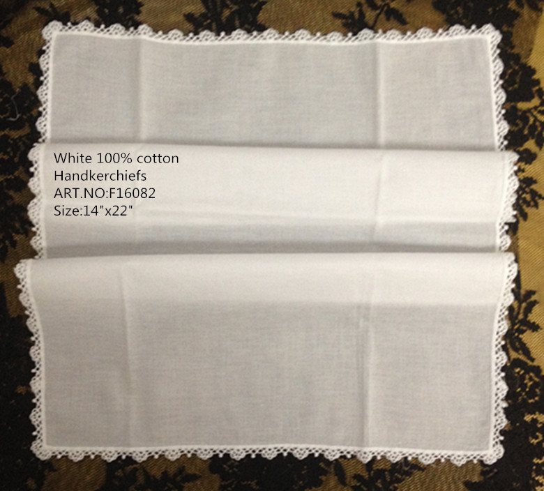 Set Of 12 Novelty Unisex Handkerchiefs 14x22