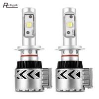 Rectangle Super Bright H7 Led H4 H11 9005 9006 Car LED Headlight Lamp 60W 12000LM White