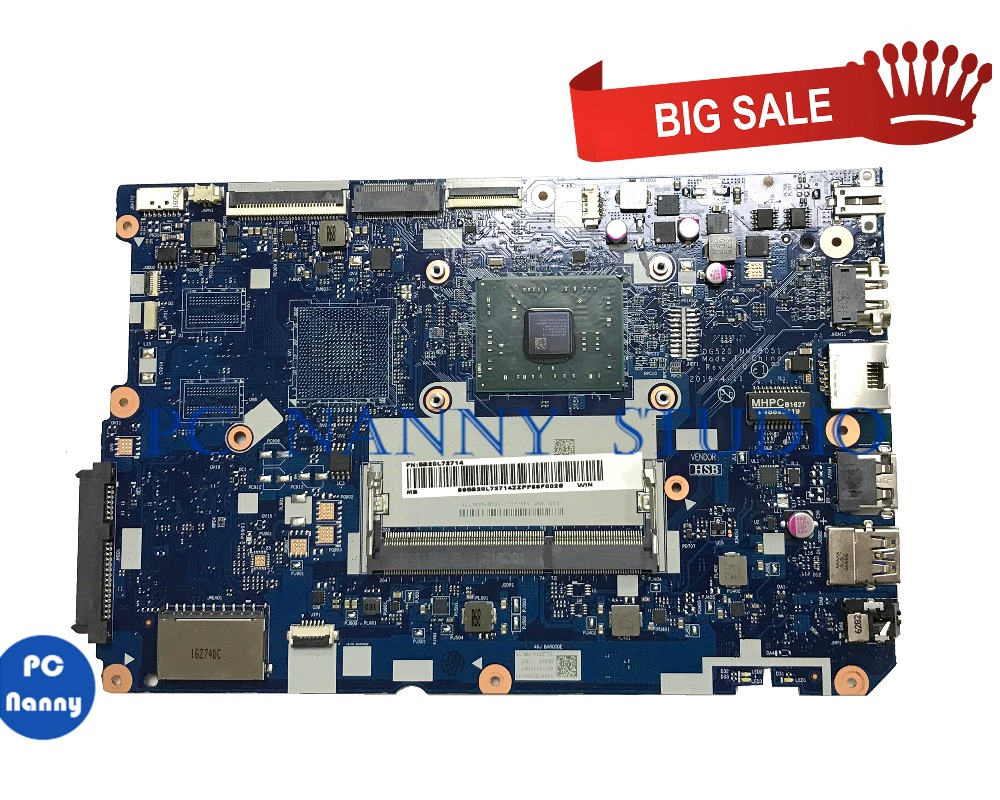 PC NANNY FOR <font><b>Lenovo</b></font> <font><b>Ideapad</b></font> <font><b>110</b></font>-15ACL Laptop <font><b>Motherboard</b></font> 5B20L72714 M-B051 A8-7410 tested image