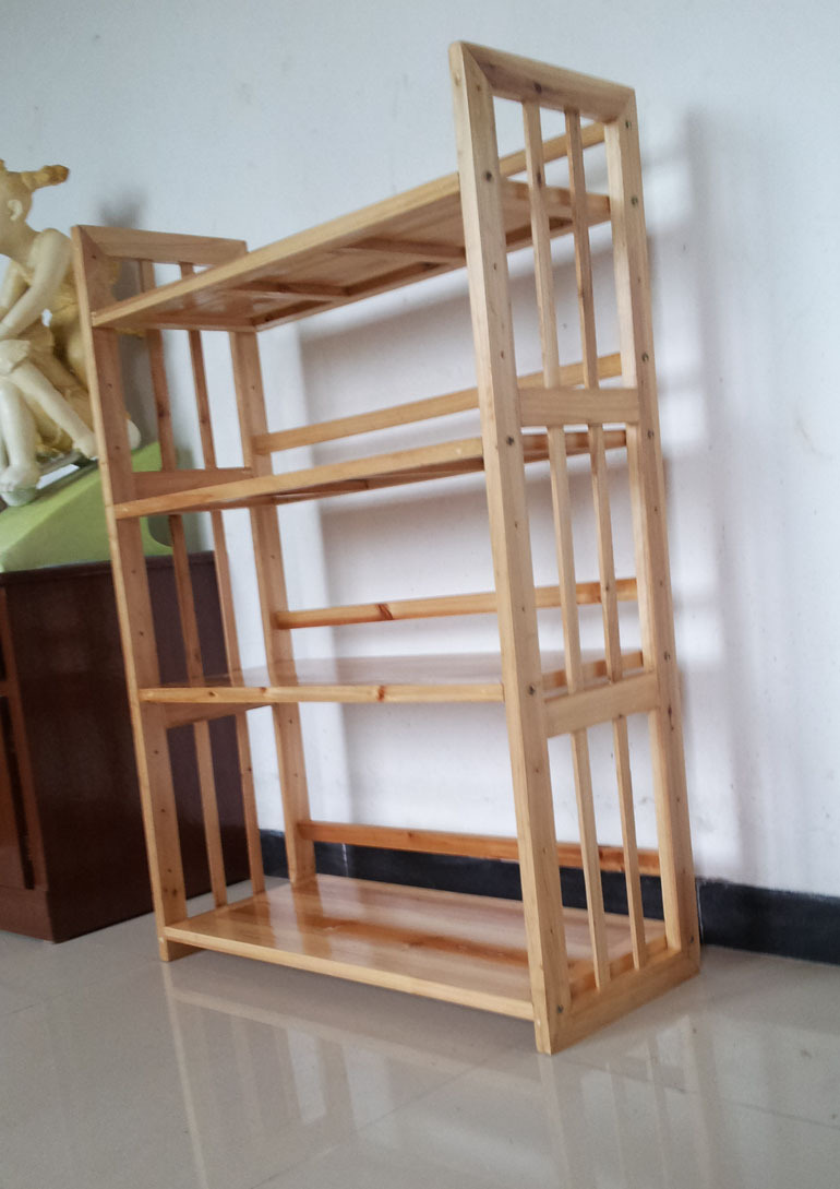 Solid Wood Shelf Microwave Oven Versatile Shelving Storage Rack Kitchen In Cabinets From Home Improvement On