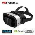 New VR PARK V5 Mini Virtual Reality 3D Glasses Google VR Helmet BOX Game Video Headset For 4.0-6 inch Phone