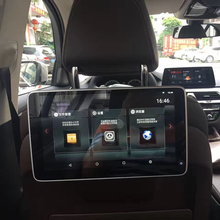 TV In The Car Monitor Android Headrest DVD Player IPS Full Screen For BMW 5 Series 528i Rear Entertainment System 11.6 Inch car headrest video player android tv in the car dvd monitor for cadillac android rear seat entertainment system 11 8 inch screen