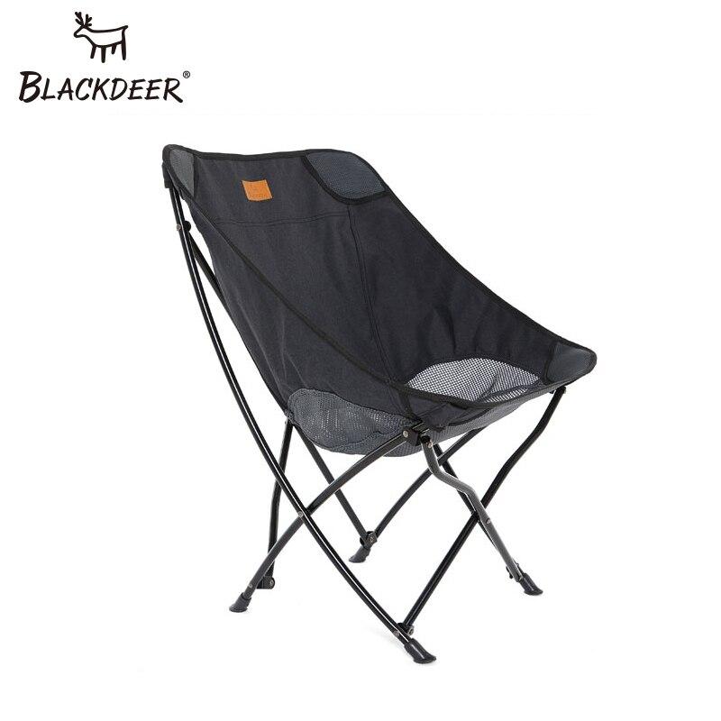 BLACKDEER屋外折りたたみ椅子キャンプメッシュ通気性軽量ポータブルピクニック用ポータブル固体椅子バーベキュービーチバケーション折りたたみ椅子