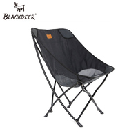 Blackdeer ao ar livre dobrável cadeira de acampamento malha respirável leve portátil sólida cadeira para piquenique churrasco praia férias
