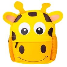 Милые детские сумки для малышей, рюкзак для детского сада, школьный рюкзак для мальчиков и девочек, Сумка с объемным рисунком животных