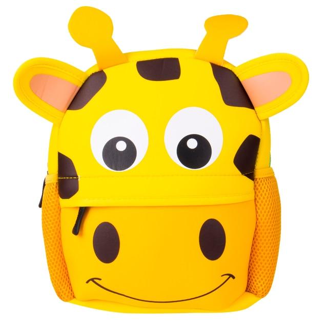 Милые детские школьные сумки для малышей рюкзак в Детский сад Школьный 3D мультфильм животных сумка