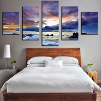 Wholesale NO FRAME Ocean Oil Painting Printed Painting Oil Painting On Canvas Oil Painting For Home