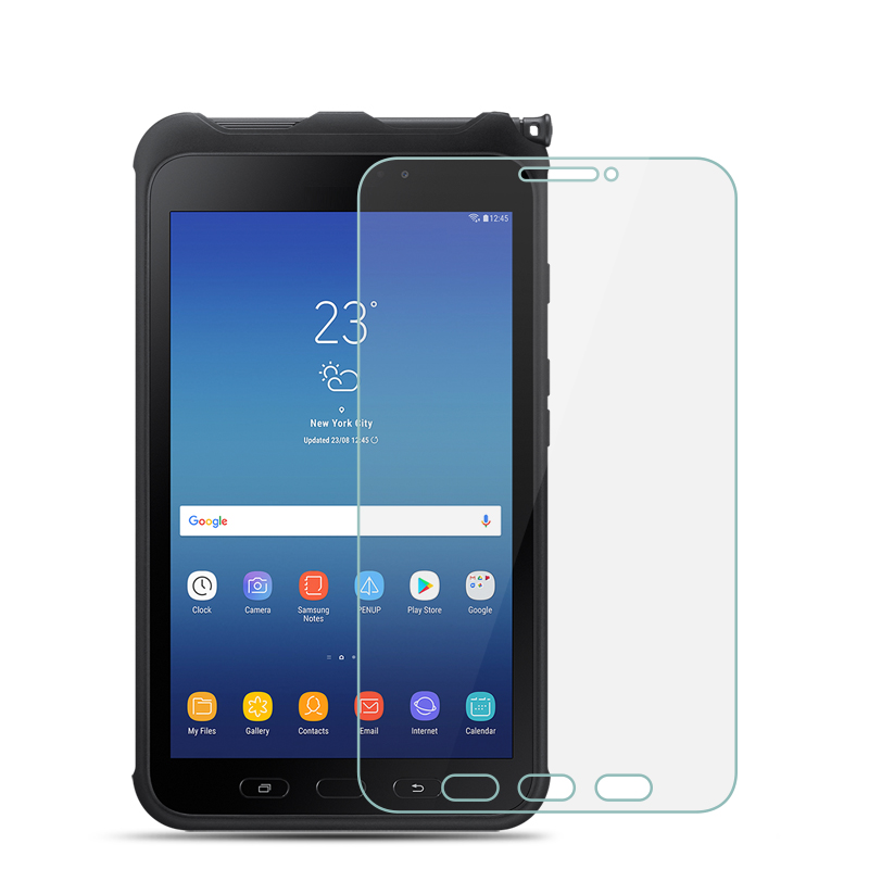 9H Tempered Glass For Samsung Galaxy Tab Active 2 8.0 Inch Tablet Screen Protector Protective Film Glass Guard