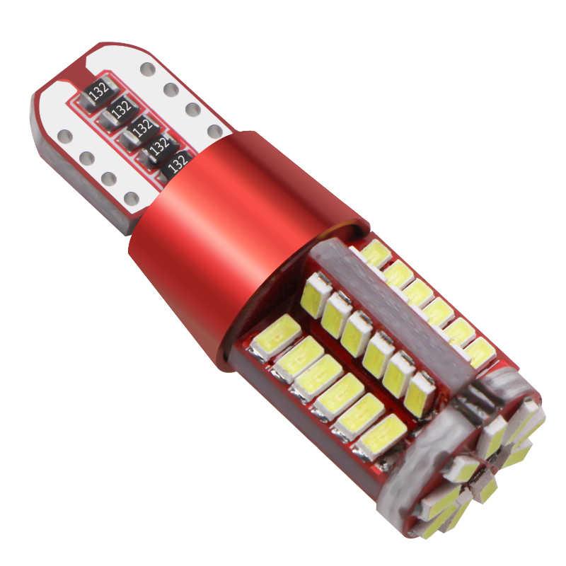 2pcs 57 T10 led 168 192 2825 w5w super luminoso SMD 3014 LED CANBUS NO Errore Auto del Cuneo indicatore luce di lampadina luci di Ingombro Auto lampada 12V