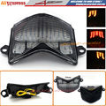 Motorcycle Clear LED Integrated Tail light + Turn Signal Blinker For Kawasaki ZX-10R 2006-2007,Z750S/ZX-6R 2005-2006