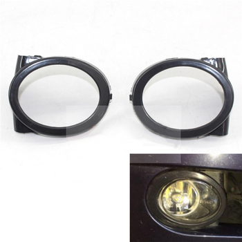 Fog Light Cover For BMW 3 Serie E46 2000~2006 Fog Light Cover Vent Car Grille Auto Front Lower Bumper Driving Lamp Cover image
