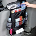 2016 Limited Direct Selling Ce Cup Holder Multi Pocket Drink Bottle Holder Car Back Seat Insulation Cooler Bag Organizer