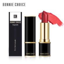 BONNIE CHOICE 8 Colors Matte Lipsticks Velvet Moisture Lip Stick Professional Make up Long Lasting Cosmetic Makeup
