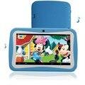 Niza Diseño NIÑOS Android Tablets PC WIFI Bluetooth Quad core 1024*600 7 pc pestaña Para bebé y tabletas para niños de Los Niños exclusivo