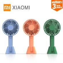 XIAOMI MIJIA VH портативный ручной мини-вентилятор для дома перезаряжаемый портативный кондиционер настольный usb вентиляторы встроенный аккумулятор 2000ма