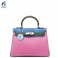Женские сумки 100% из натуральной кожи, сумки на плечо для дам, роскошные сумки, дизайнерская женская сумка на замке, сумка тоут, классический