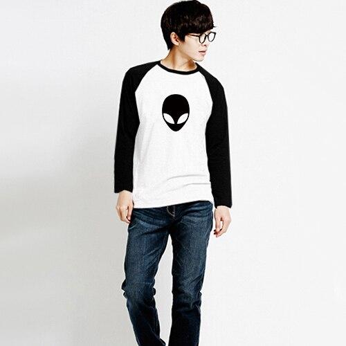 Novela lindo extranjero Logo Print hombres camisetas para hombre de manga  larga T shirt de Skate hombre camiseta ropa de Skate de algodón Lycra en  Camisetas ... 28feb485e01