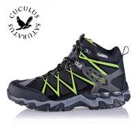 RAX Men Women Lightweight Hiking Boots Waterproof Hiking Shoes Outdoor Sports Trekking Mountain Climbing Shoes Men
