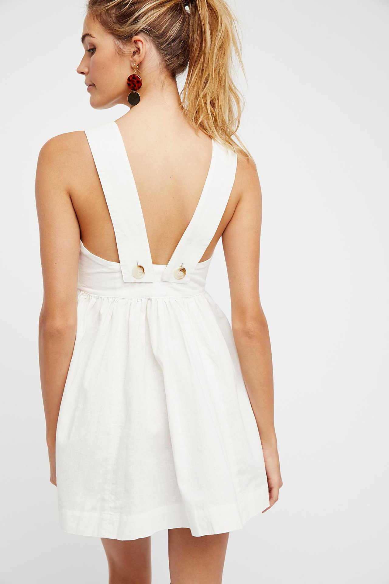 2018 kadın Moda Yeni yaz elbisesi Sıcak Satış Kolsuz Seksi Elbise Straplez Pamuk Keten Boho Elbise A-line Prenses Elbiseler