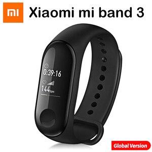 Image 5 - Original Xiaomi Mi Band 4 Smart Wristbands Miband 3 Bracelet Heart Rate Fitness Tracker Touch Screen pulsera inteligente 2019
