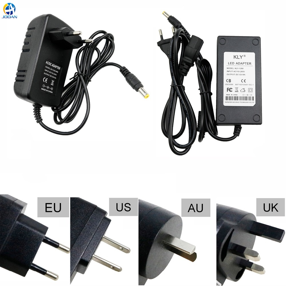 все цены на 100-240V AC to DC Power Adapter Supply Charger Adapter Power EU UK AU US Plug for CCTV IP Camera Router TV Box Mini TV 12V 2A онлайн