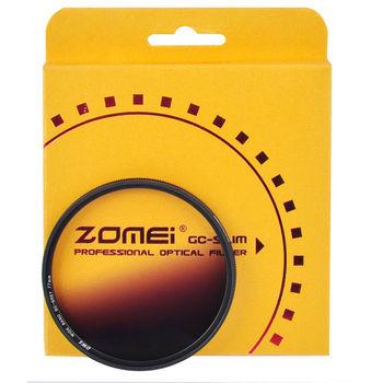 Zomei Slim Camera szerokopasmowy filtr GC gradientowy filtr o neutralnej gęstości zestaw obiektywów czerwony niebieski pomarańczowy szary 40 5 49 52 58 67 72 77 82mm tanie i dobre opinie zomei Slim G color RoHS 40 5mm49mm52mm55mm58mm62mm67mm72mm77mm82mm
