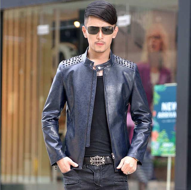 Hot SaleThe New Winter 2015 A Winter Coat For Men Brand High Quality Leather Jacket Men Winter Jacket Men Men 's Sheepskin Coat