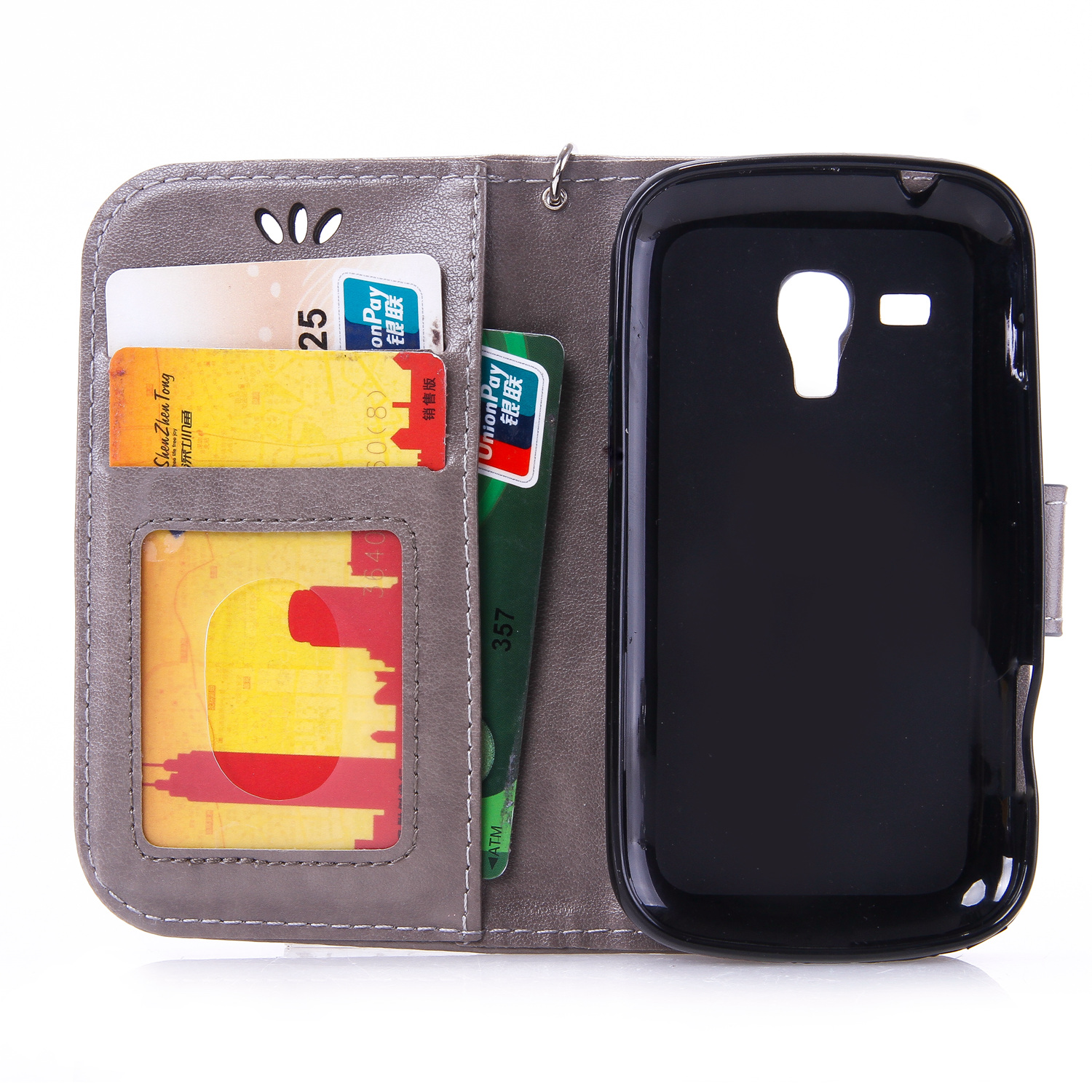 Flip Case for Samsung Galaxy Trend Plus S7580 S 7580 GT S7580 Phone Leather Cover for Galaxy Trend 2 Duos S7572 S 7572 GT S7572 in Flip Cases from