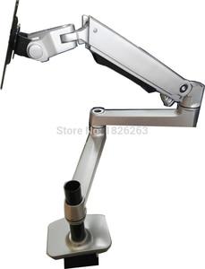 Image 5 - XSJ8013C 300 Aluminum Full Motion Free Lifting Ultra Long Arm 10 32 inch LED LCD Monitor Holder Lengthen Monitor Mount Bracket