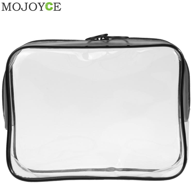Portable Waterproof PVC Storage Bag Women Transparent Cosmetic Box Travel Organizer Toiletry Makeup Bags Makeup Organizer Case travel aluminum blue dji mavic pro storage bag case box suitcase for drone battery remote controller accessories