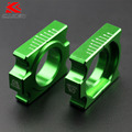 Зеленый ЧПУ Сеть Adjuster Задний Мост Блок Комплект для Kawasaki KX250F KX450F 2004-2015 Fit KXF Мотокроссу Байк новый