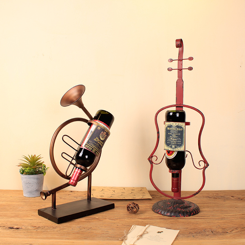 The New Instrument Wine Rack Creative Home Furnish...