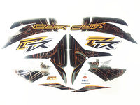 Motorcycle full set of decals sticker For HONDA F5 CBR600R 07 12years