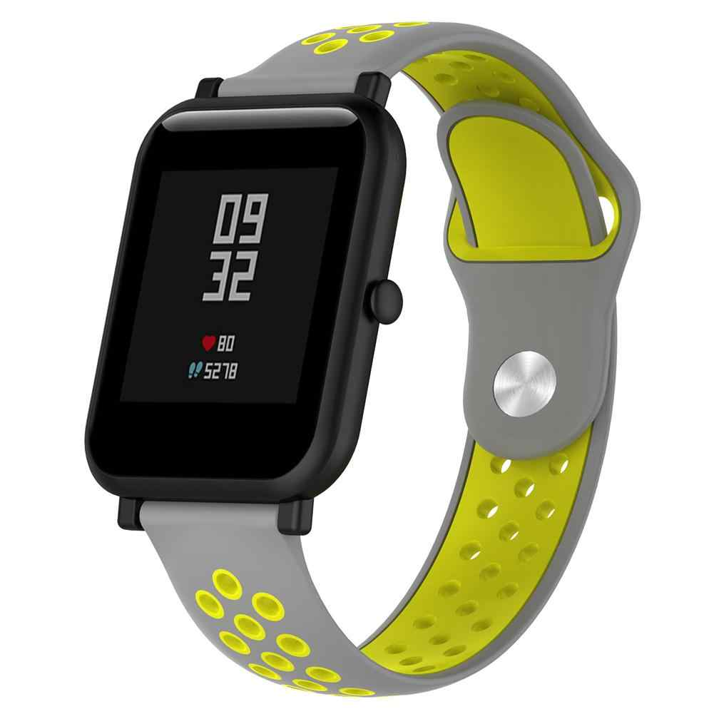 Silicone Watchband For Huami Amazfit Bip A1608 Replacement Wrist Strap Bracelet