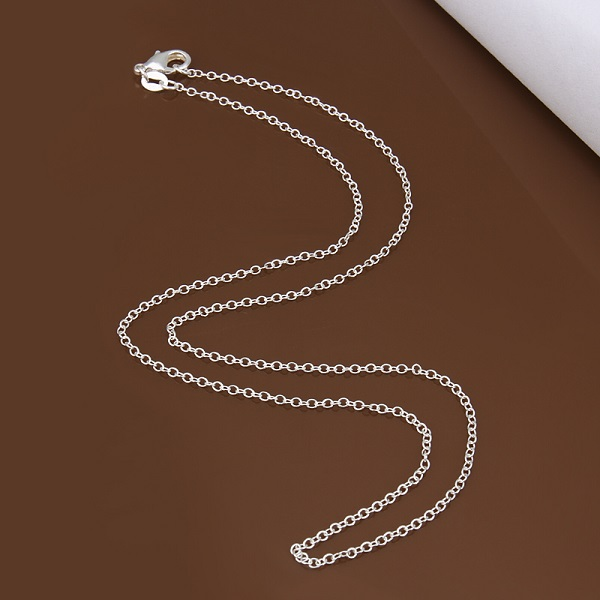 MILOYOU Fashion Cross Necklace for Women Silver Color Lucky Number 8  Pendant Necklace Trendy Party Statement Necklace ML019