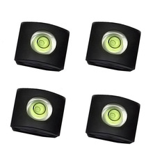 4Pcs/Set Camera Bubble Spirit Level Hot Shoe Protector Cover