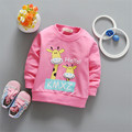 2017 Spring New Style Baby Boys Girls Pullover Tops Character Babies Girls Long Sleeve T-Shirt Clothing Toddler Clothes ss101