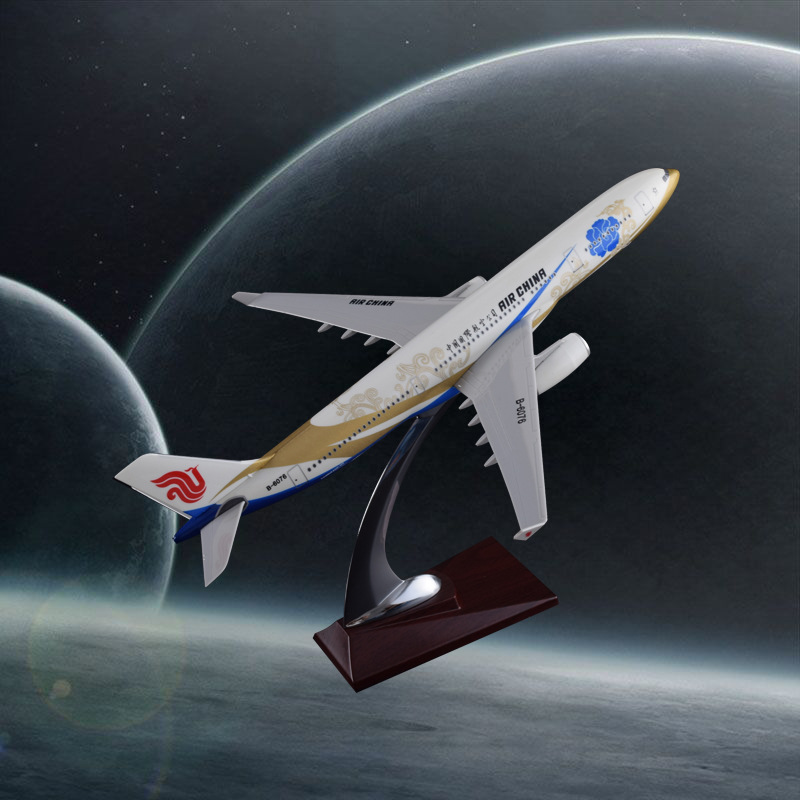 32cm A330 Zichen Airbus Model Air China Airlines Goldchen Decoration Crafts Airplane Model Resin Aircraft Airways Model spike wings xx4391 jc china eastern airlines b 5902 a330 200 green 1 400 commercial jetliners plane model hobby