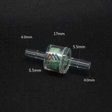 4 мм фильтр прямой соединитель для рыбы/пруда/автомобиля вода/воздух/Сифон материал GPPS