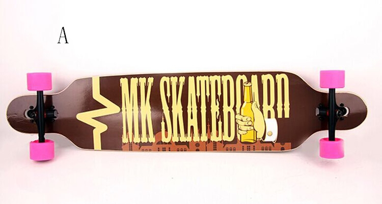 Free Shipping Long Board  7 Layers Maplewood 107.95x24.765cm