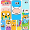 Adventure Time with Jake and Finn Hard Cover Case for Galaxy S3 S4 S5 & Mini S6 S7 Edge Plus