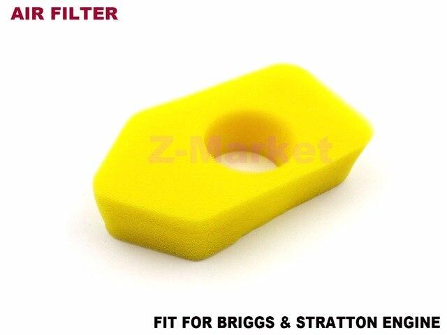 3 STÜCKE Luftfilter 698369 für Briggs & Stratton 4 Stroke Motoren ...