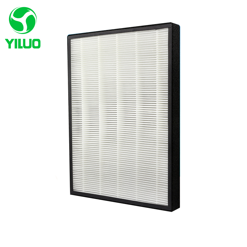 390*280*35mm White high efficiency collect dust hepa filter of air purifier parts for KJEZ200E etc все цены