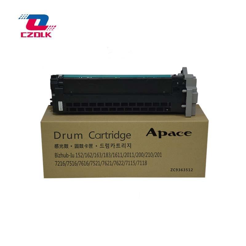 New compatible 183 Drum Unit for Konica Minolta bizhub 163 210 211 220 221 7516 7521 7621 7622 Drum Cartridge 1pcs dv110 compatible developer for minolta 152 183 162 163 210 220 200 copier parts