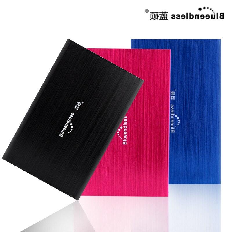 Blueendless Portable Disque Dur Externe 320 gb hd externo Périphériques De Stockage disque dur pour ordinateur de bureau et ordinateur portable disco duro externo