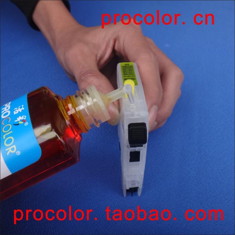 PROCOLOR BD-LC563 / LC565 / LC567 / LC569 CISS BROTHER MFC-J2510 / - Ofis elektronikası - Fotoqrafiya 2
